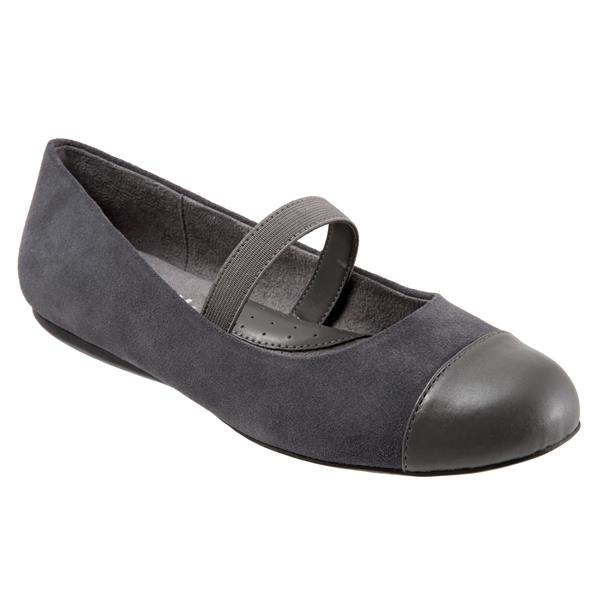 Napa MJ Dark Grey Suede Pewter
