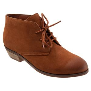 Ramsey Brown Caramel Suede