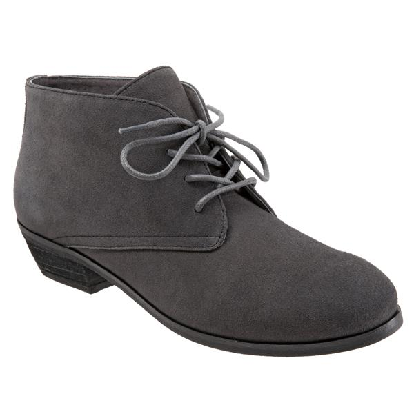 Ramsey Dark Grey Suede