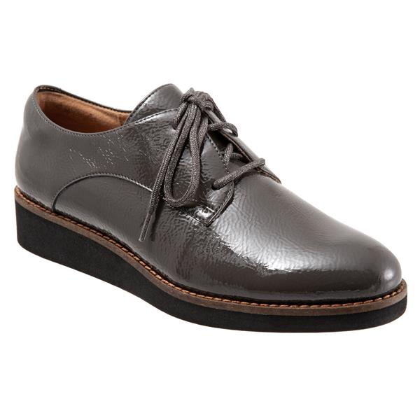 Willis Dark Grey Patent